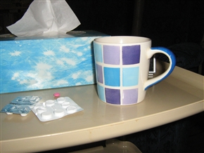 picture of tablets and a mug