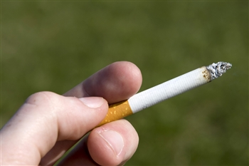 Do you have difficulty holding your cigarette when smoking?