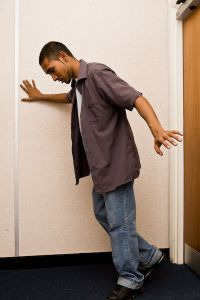 Do you experience difficulty walking between rooms?