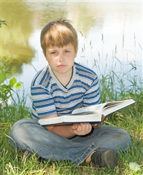 Does your child have difficulty holding books?