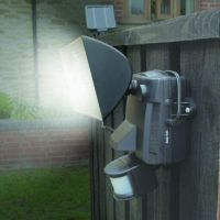 Is the area outside your front door well lit?
