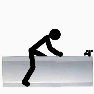 Do you experience difficulty when stepping in or out of your bath ?