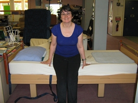 Do you have difficulty getting on and off your bed?