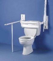Pressalit Toilet Support Rail With Leg