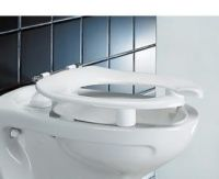 Dania Raised Toilet Seat With Open Front