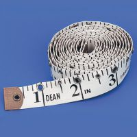 Imperial Tactile Tape Measure