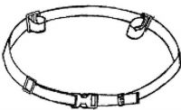 Crelling Retainer Wheelchair Belt