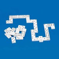Easy-to-see Tactile Dominoes With Raised Dots