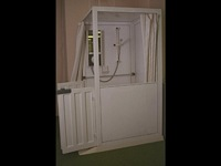Side Entry Shower Toilet Cubicle