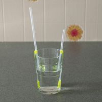 Original Pat Saunders One Way Drinking Straws