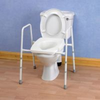 Stirling Adjustable Toilet Frames