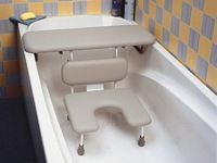 Ascot Padded Bath Board And Seat