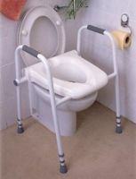 Merlin Raised Toilet Seat Frame