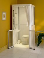 Mk2 Side Entry Showerloo Cubicle