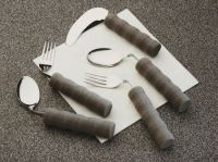 Lightweight Foam Handled Angled Cutlery
