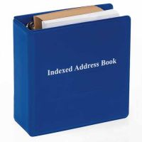 Braille Indexed Address Book