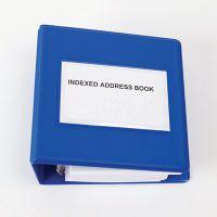 Braille Indexed Address Book