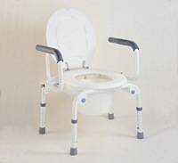Drop Arm Portable Commode
