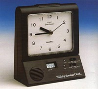 Talking Analogue Alarm Clock