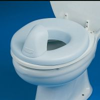 Padded Toilet Seat and Ring Reducer