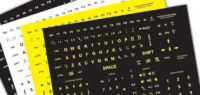 Large Print Keyboard Stickers