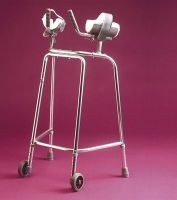 Standard Adjustable Trough Wheeled Walking Frame
