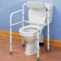 Uni Frame Folding Toilet Surround Rail