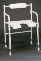 Adjustable Height Rufus Folding Shower Chair
