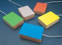 Sensory Coloured Bloc Switch