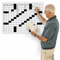 Giant Erasable Crossword Puzzle