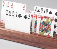 Wooden Straight Card Holder