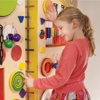 Sensory Acoustic Tactile Wall Panel