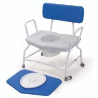 Height Adjustable Extra Wide Commode