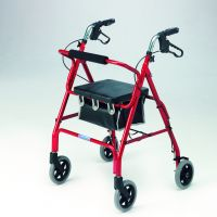 Safety Walker Lightweight Aluminium Rollator