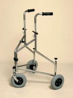 Folding Tri-wheeled Walker With Push Down Brakes