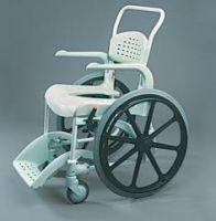 Etac Clean Wheeled Shower Commode Chair