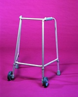 Narrow Walking Frame With Wheels