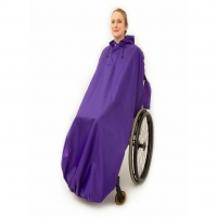 Full Length Wheelchair Waterproof Cape