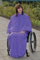 Warmlined Wheelchair Cape