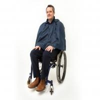 Warmlined Wheelchair Waterproof Cape