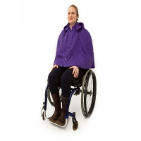 Warmlined Wheelchair Waterproof Cape