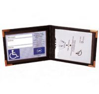 Blue Badge And Timer Wallet
