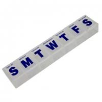 Pill Dispenser With Flip Lids
