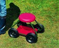 Garden Stool On Wheels