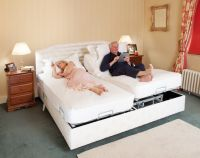 Double Combination Beds With Metal Free Standing Mechanisms