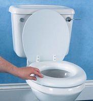 Soft Raised Toilet Seat