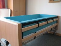 Bed Cocoon Bumper Protection System For Non-profiling Bed