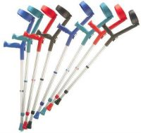 Standard Handle Coloured Crutches