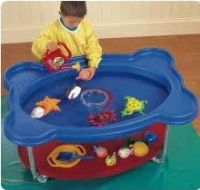 Round Sand And Water Centre With Lid