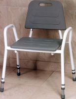 Shower Stool with Arm Supports